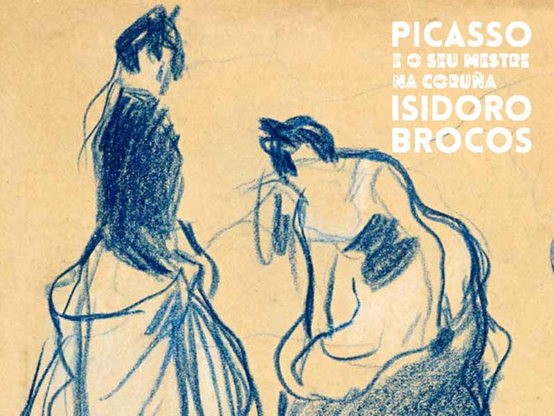 Picasso e o seu mestre na Coruña, Isidoro Brocos